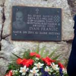 Odavanje počasti Ivanu Franjiću